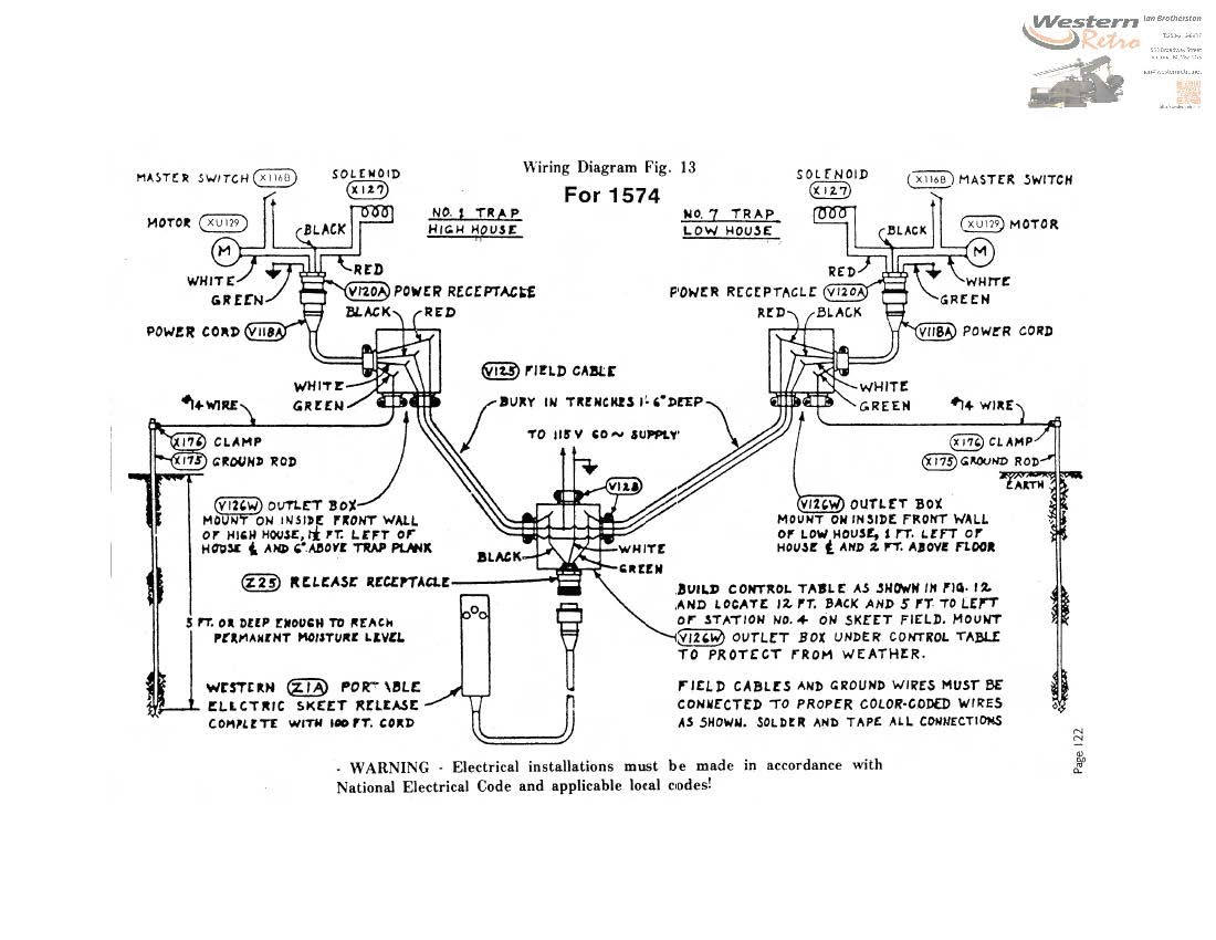 winchester western skeet machine for wiring diagram winchester get free image about wiring diagram
