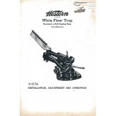 Western White Flyer Trap Manual V1517A